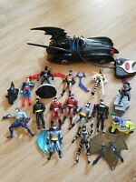 Batman Kenner Action Figure Collection 1990s Lot  Joker Superman Batmoible Works