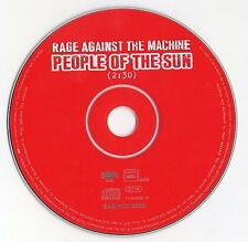 "RAGE AGAINST THE MACHINE ""PEOPLE OF THE SUN"" RARE PROMO CD SINGLE / SAMPCD 3560"