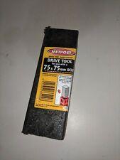 Metpost drive tool 75mm x 75mm Box