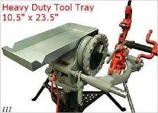 New Tool Tray Pipe Holder Ridgid 300 Pipe Threader 811 Die Head Cutter Amp Reamer