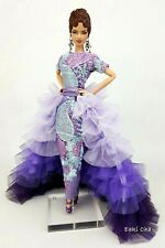 Eaki Purple Evening Dress Outfit Gown For Silkstone Fashion Royalty FR Candi