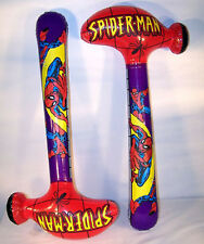 12 SPIDERMAN giant HAMMER INFLATE TOYS 36 IN spider man inflatable toy hammers