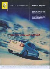 Renault Megane Coupe 2.0 coche 2002 Revista anuncio # 2713