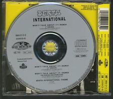 BEATS INTERNATIONAL Won't Talk About 4 TR West GERMANY CD SINGLE JEWEL CASE