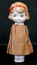Vintage ANTIQUE German Bisque GOOGLY EYE JOINTED DOLL Germany / Unknown Maker
