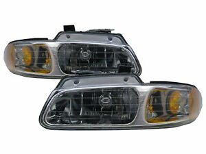 Grand Voyager 1996-1999 Minivan 3D/4D Clear Headlight Chrome for PLYMOUTH LHD