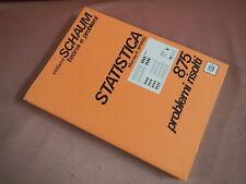 Spiegel  Murray STATISTICA - 875 PROBLEMI RISOLTI coll. Schaum