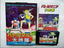 Battle Mania 2 Trouble Shooter Vintage Japanese for Sega MegaDrive Game card