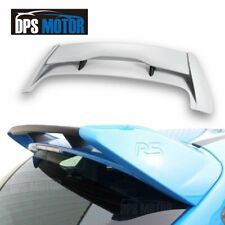 RS Style ABS Rear Roof Trunk Spoiler Wing For 2012-2018 Ford Focus MK3 Hatchback