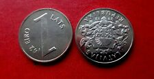 "Latvia 1 Lats "" Parity coins » UNC  Last Latvian lats coin 2013 NEW  PRE EURO"