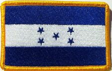 HONDURAS Flag Patch With VELCRO® Brand Fastener Military Catracho Emblem