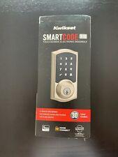 Kwikset SmartCode 916 - Brass Electronic Deadbolt 916TRL 99160-010 New