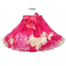 Niña Vestido Falda de cuerpo medio Falda Falda De Cumpleaños edad 0-6años 4980HC