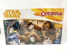 NEW Operation STAR WARS Edition CHEWBACCA Board GAME Disney Hasbro NIB Sealed