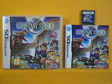 Ds phantasy star zero pal uk version rpg lite DSi 3DS Nintendo