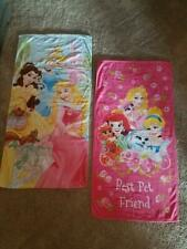 Disney Princess Towels/ Bath/Beach Set Of 2