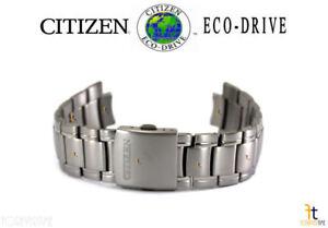 Citizen Eco-Drive BM7170-53E Silver-Tone Titanium Watch Band BM7170-53L
