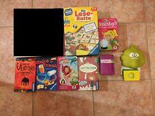 Spielesammlung Gesellschaftsspiele Kinder Konvolut: 9 Spiele, 1 Puzzle