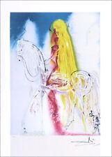 SALVADOR DALI Lady Godiva Facsimile Signed Offset Lithograph COA