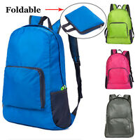 Outdoor Sports Foldable Waterproof Backpack Hiking Camping Travel Storage Bag