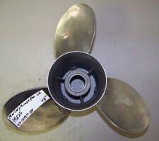 Clean Mercury Mirage Plus 14 1/2 x 25 Stainless Left Hand Propeller # 48-13707