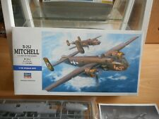 Model Kit Hasegawa B-25J Mitchell US Army Air force bomber on 1:72 in Box