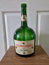 Vintage Large 3 litre Courvoisier Cognac Bottle-Advertising/Bar/Pub