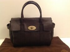 Authentic Mulberry Ledbury (Baby Bayswater) Brown Leather. Ex Cond, Dustbag