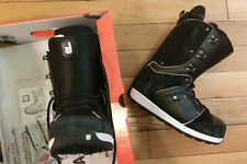 ONCE WORN Burton Jeremy Jones Snowboard Boots | Black/White | Men's 9.5 US