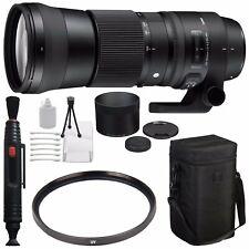 Sigma 150-600mm f/5-6.3 DG OS HSM Contemporary Lens for Nikon F + 95mm UV Filter