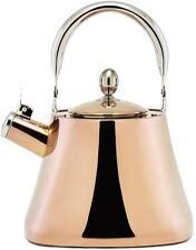 Old Dutch DuraCopper 10.57-Cup Stovetop Tea Kettle in Copper