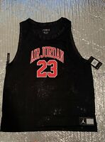 NWT Nike Jordan DNA Distorted Basketball Jersey AJ1140-010 Men's Size M
