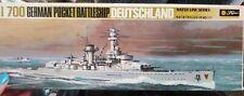 Fujimi 1/700 Waterline Series WW2 German Pocket Battleship Deutschland Kit 129