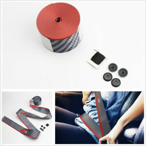 3.6M 3 Point Car Racing Safety Seat Lap Belt Webbing Polyeste Fiber With Logo