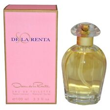Oscar de La Renta So De La Renta 3.3oz  EDT Women's Perfume-new in sealed box