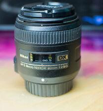 Nikon Nikkor 40mm f/2.8 DX G Lens Excellent Condition