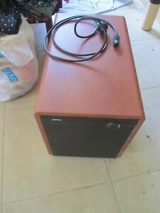 Jamo Sub 300 300w Active Subwoofer (Brown) in good condition