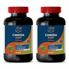 Candida Clear Supplement - Candida Away Solution 1275mg - Candida Test 2B