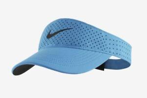 Nike Aerobill Blue Visor Golf Mens Womens Tennis