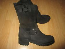 GIANNI..Leder - LAMMFELL..Boots / Stiefel Gr.37..Plateau,leicht..LP.270 €