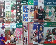 Plastic Canvas Patterns HOLIDAY DESIGNS Christmas Easter &more **You Choose