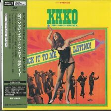 Kako And His Orchestra ‎– Sock It To Me, Latino! (1968) JAPAN MINI LP CD