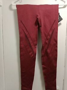 Victoria's Secret Sport Seamless  Tight Yoga Red Currnt Size XS high rise (A13)