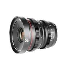 Objektiv Meike 25mm T2.2 Manual Focus Cinema Lens MFT f. Panasonic, Olympus DSLR