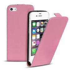 Flip Case Apple iPhone 4 4S Hülle Pu Leder Klapphülle Handy Tasche Cover Rosa