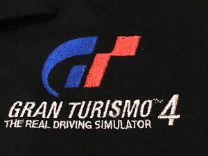 RARE VINTAGE Gran Turismo 4 Video Game Promo Shirt 2005 XL Sony  PLAYSTATION HTF