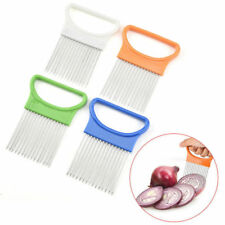 Cutting Holder Slicer Cutter Guide Aid Onion Slicing Gadget Tomato Vegetable