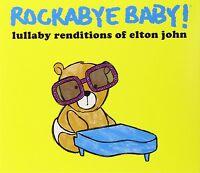 ROCKABYE BABY! Lullaby Renditions Of Elton John 2013 US 12-trk CD sealed