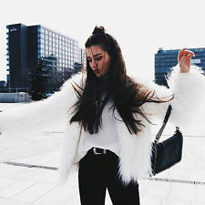 Women Winter Warm Faux Fur Fox Coat Ladies Jacket Thick Parka Outwear Overcoat