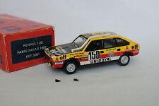 Top 43 Kit monté 1/43 - Renault 20 Paris Dakar 1982 Marreau